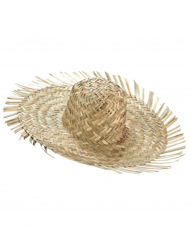 Chapéu de palha Havai para adulto