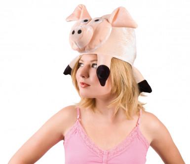 Chapéu de porco para adulto