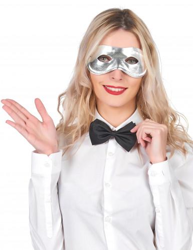 Máscara metalizada para adulto