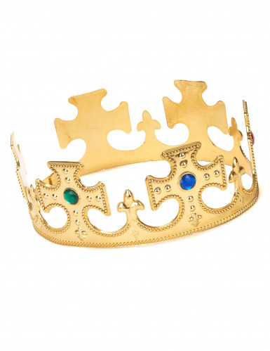 Coroa de ouro para homem