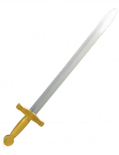 Espada de cavaleiro medieval criança 65 cm