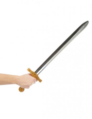 Espada de cavaleiro medieval criança 65 cm-1