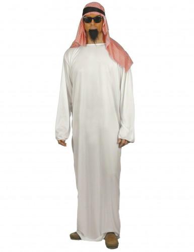 Disfarce xeque árabe para homem
