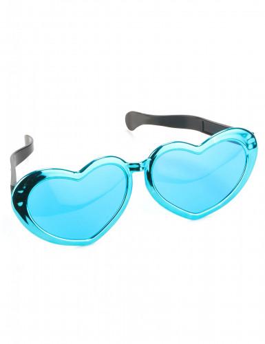 Óculos gigantes em forma de coração-1