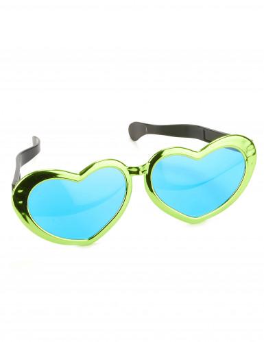 Óculos gigantes em forma de coração-2