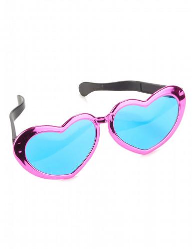 Óculos gigantes em forma de coração-3