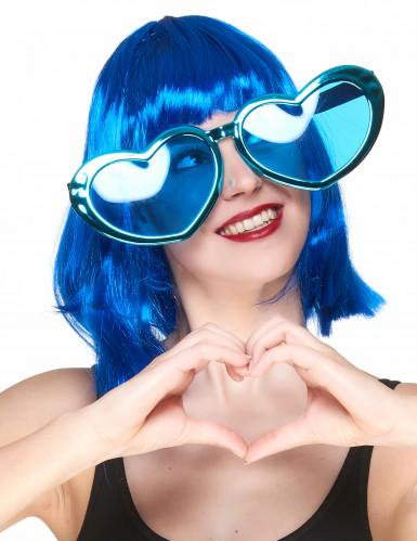Óculos gigantes em forma de coração-4
