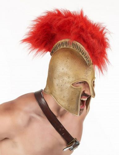 Capacete de soldado romano