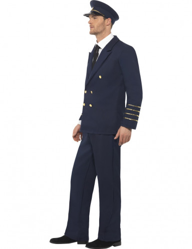 Disfarce de piloto aéreo para homem