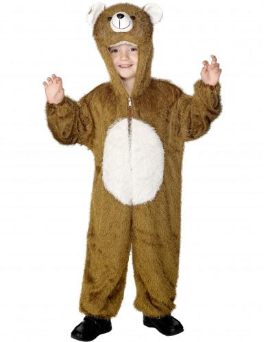 Disfarce de urso para criança
