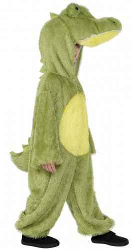 Disfarce de crocodilo duas cores criança