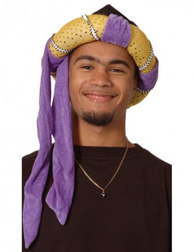 Chapéu de sultão árabe para adulto