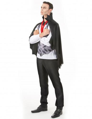 Disfarce de homem Drácula para Halloween-1