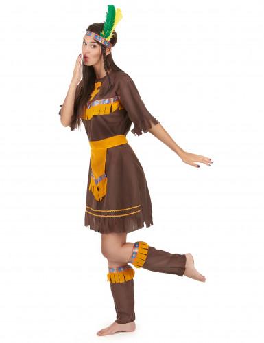 Disfarce de índia para mulher-1