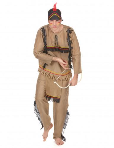 Disfarce índio de homem