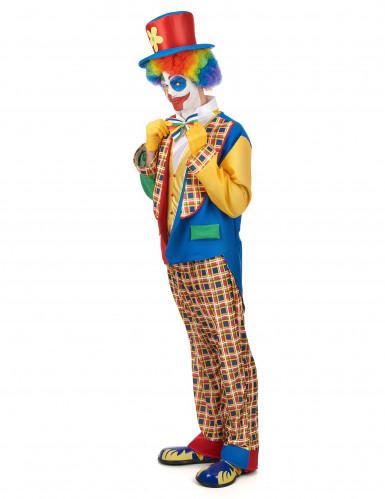 Disfarce palhaço de circo homem-1