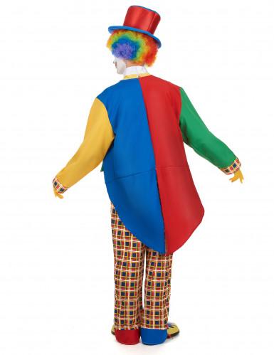 Disfarce palhaço de circo homem-2