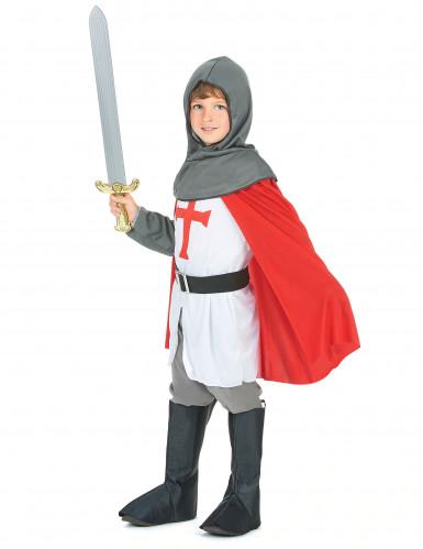 Disfarce de cavaleiro de cruzadas para rapaz-1