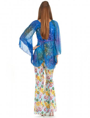 Disfarce flower power hippie para mulher-1