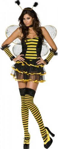Fantasia abelha sexy mulher