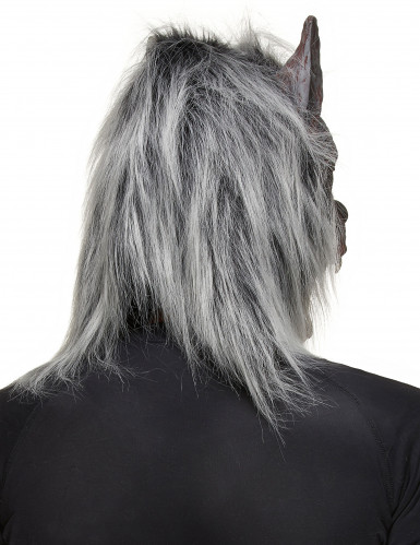 Máscara de lobo mau adulto Halloween-1