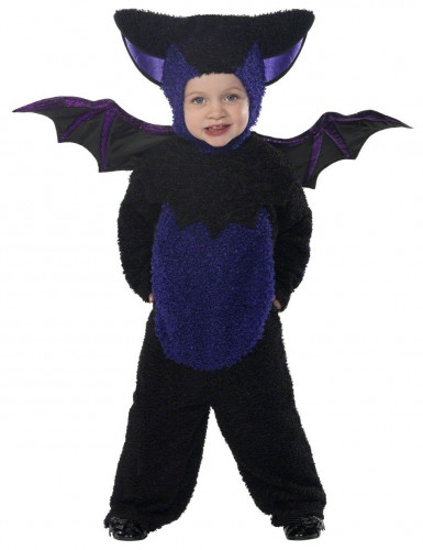 Disfarce morcego menino para Halloween