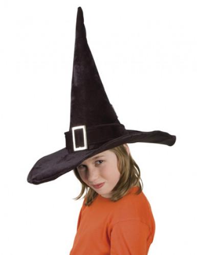 Chapéu de Halloween de bruxa para criança