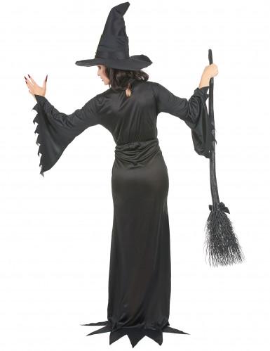 Disfarce de bruxa mulher Halloween-2