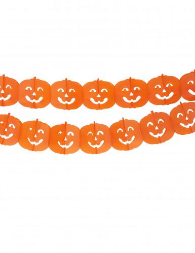 Grinalda abóbora Halloween