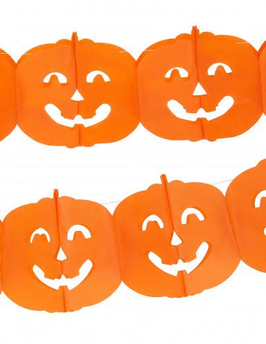 Grinalda abóbora Halloween-1