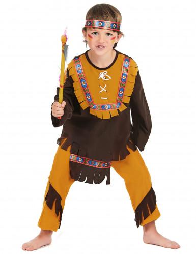 Disfarce de índio para menino