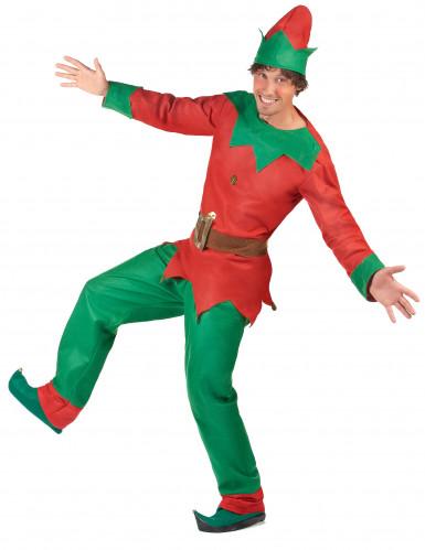Disfarce de duende para homem Natal-2