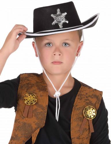 Chapéu de cowboy para criança-1