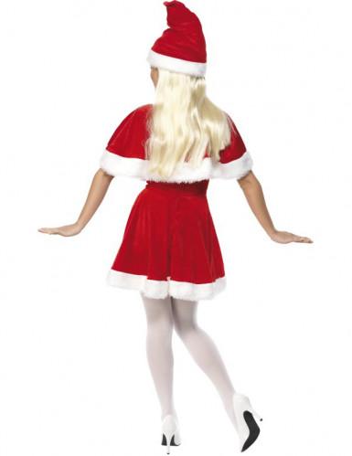 Disfarce Mãe Natal com capa mulher-1
