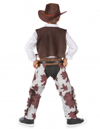 Fantasia cowboy de luxo rapaz-2