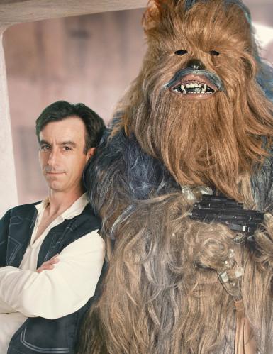 Disfarce de colecionador Chewbacca™ para adulto da Star Wars™-1