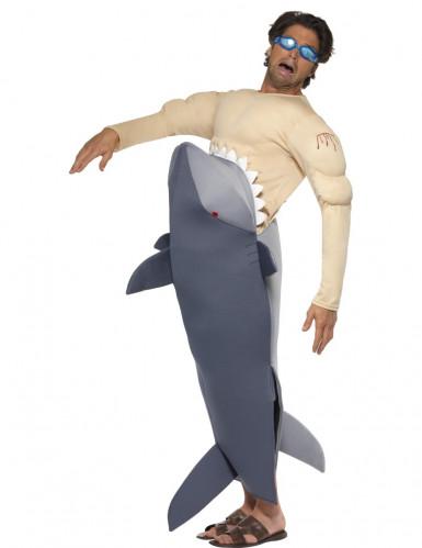 Disfarce dentes do mar para homem