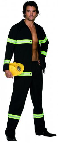 Disfarce sexy de bombeiro para homem