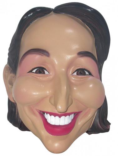 Máscara Ségolène Royal adulto