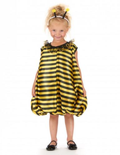 Disfarce de abelha bufante para menina