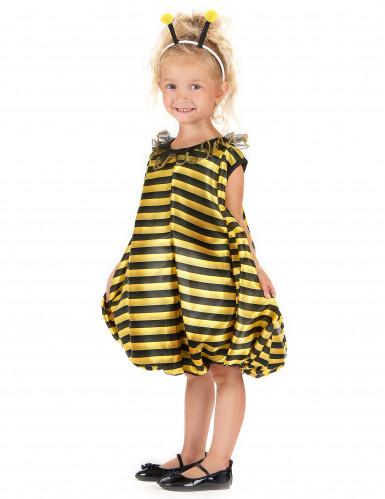 Disfarce de abelha bufante para menina-1