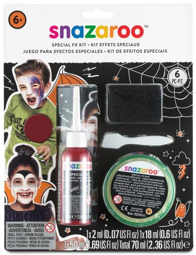 Kit de efeitos especiais para feridas, para o Halloween, da Snazaroo