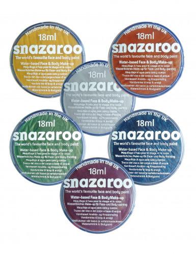 Maquilhagem Metalizada Snazaroo, boião de 18ml