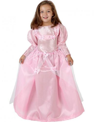 Disfarce de princesa menina