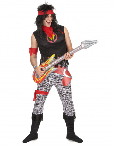 Disfarce rock star homem