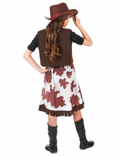 Disfarce de vaqueira para menina-2