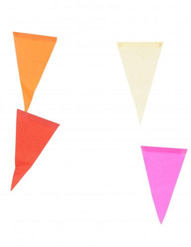 Grinalda multicor em papel-1