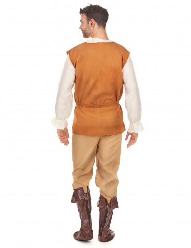 Disfarce camponês medieval homem-2