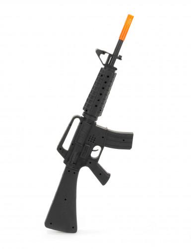 Espindarda de assalto de soldado M16 de plástico