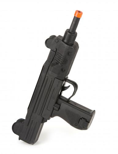 Pistola-metralhadora UZI de soldado militar